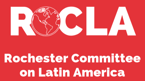 ROCLA - Red and White Logo